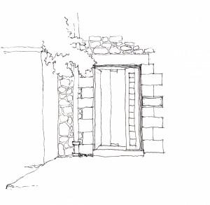 Door sketch